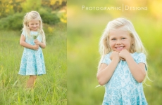Presley ~ Natural Light Child Photography