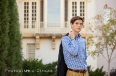 David ~ Jenks Senior Portraits