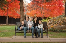 The Hodge Family ~ Fall Family Portraits