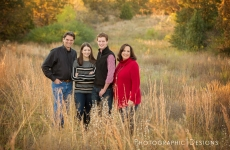 The Henderson Family – Tulsa Outdoor Family Portraits