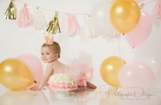 Haven ~ First Birthday Portraits Tulsa OK