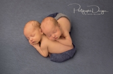 Ben and Sam ~ Tulsa Twin Newborn Portraits