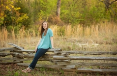 Abby ~ Bixby High School Senior Portraits