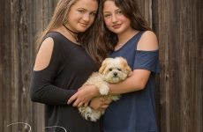 A New Puppy for the Yates Family ~ Tulsa Family Portraits