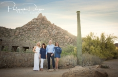 The Roberts Family ~ Destination Portraits ~Scottsdale, Arizona
