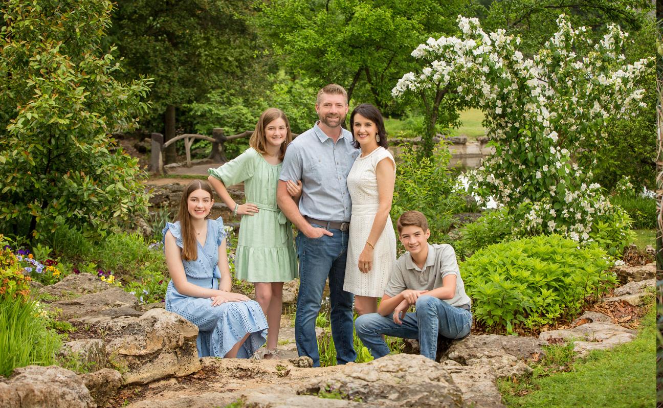 Tulsa Family Photographer Spring Leaves