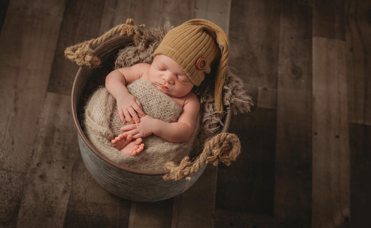 Tulsa Newborn Photographer baby boy