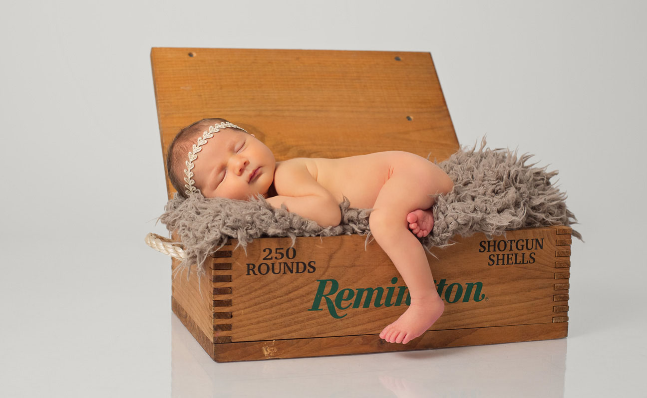 Tulsa Baby Photographer Vintage Remington