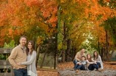 The Pinnel Family ~ Fall Family Portraits Tulsa OK
