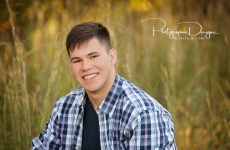Aaron ~ Broken Arrow Senior Portrait