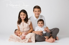 Sullivan Siblings ~ Tulsa Newborn Relationship Portraits