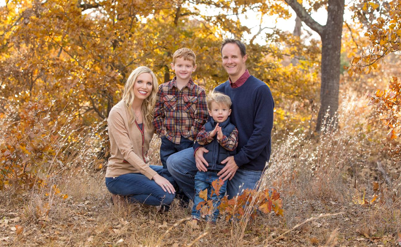 Top Tulsa Family Photos Portrait Photographer Fall