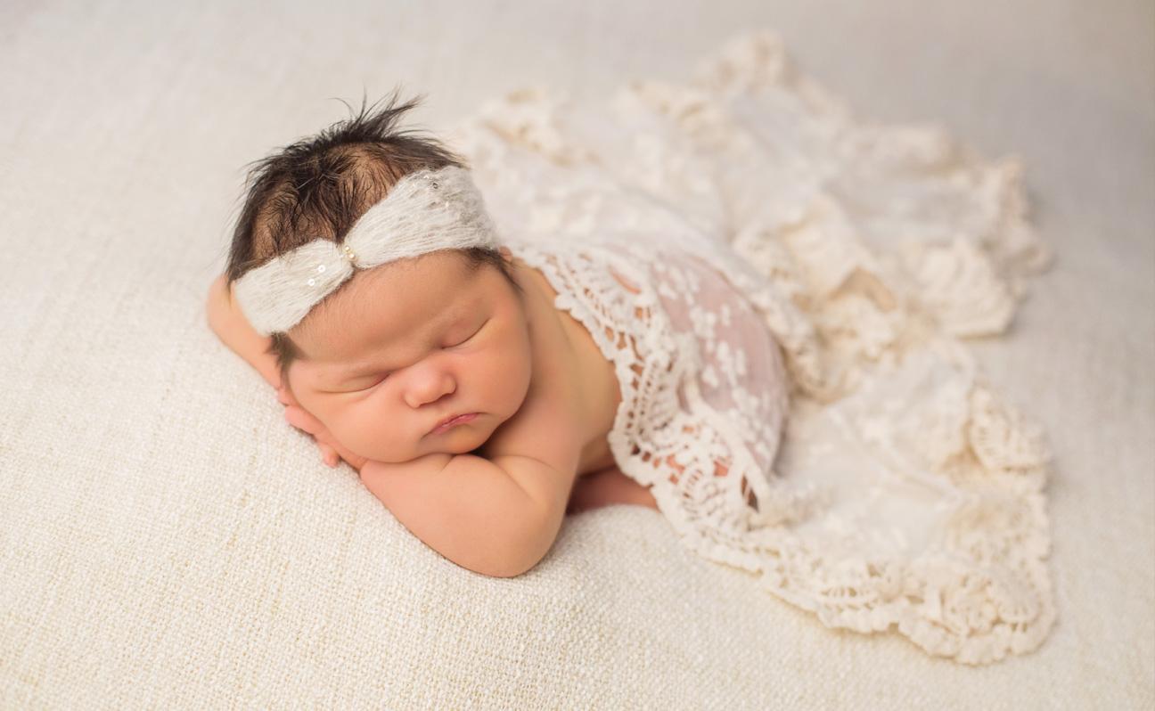 Tulsa Newborn Photographer baby girl